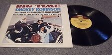 "Smokey Robinson ""Big Time"" ORIGINAL MUSIC SCORE TAMLA LP"
