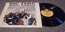 "Smokey Robinson ""Big Time"" ORIGINAL MUSIC SCORE TAMLA LP"
