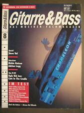 GITARRE & BASS 1993 # 8 - STEVE VAI RICHIE KOTZEN ADRIAN LEGG HEROES DEL SILENCI