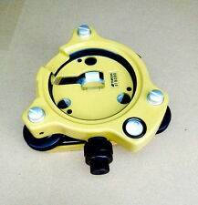BRAND NEW Genuine Topcon Yellow Tribrach with optical plummet for Total Station