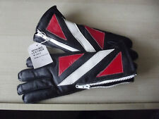 MOTORBIKE MOTORCYCLE REAL GENUINE LEATHER BIKER GLOVES EXCELLENT VALUE KETT S