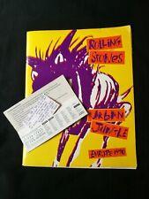 Rolling Stones Voodoo Lounge Tour Program programme Book 1994/95 + ticket