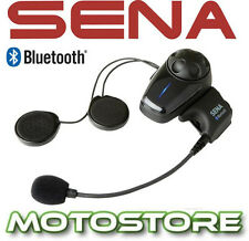 SENA SMH10 SINGLE KIT MOTORCYCLE STEREO BLUETOOTH 3.0 HEADSET AVRCP INTERCOM GPS