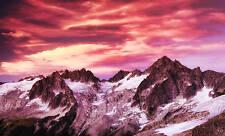 Grande tela SCENIC ARTE NUVOLE sulle montagne A1 +
