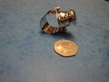 """CHROME SWITCH  HORN  MAGNETO  BUTTON  1"""" HANDLE BAR   BRITISH CLASSIC"""