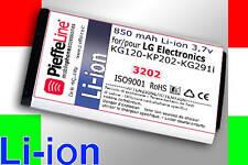 Batteria Li-ion 850mAh per LG ELECTRONICS KG290 KE360
