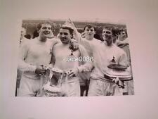 TOTTENHAM HOTSPUR FC 1967 FA CUP FINAL ALAN MULLERY DAVE MACKAY JIMMY ROBERTSON
