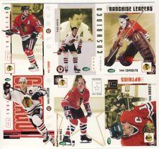 2003-04 Parkhurst Original Six Hockey Chicago Blackhawks 100-Card Set