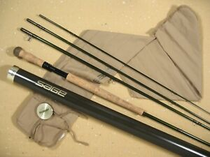 """SAGE Z-AXIS 8134-4 SPEY ROD • SUPERB CONDITION • 13' 4"""" • FOR #8 WEIGHT LINE"""