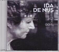 Ida De Nijs-Als Je Ooit Promo cd single