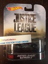 Justice League Batmobile * 2017 Retro Hot Wheels New 2017