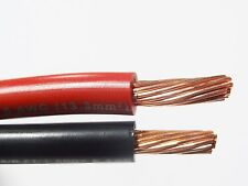 20' FT MTW 6 AWG GAUGE 10' BLACK & 10' RED STRANDED COPPER SGT PRIMARY WIRE