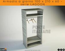 Armoire A Jour 100 x 210 x 60 - Série Lagoon