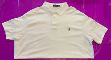 Polo Ralph Lauren 4x White Shirt XxxxL 4xl