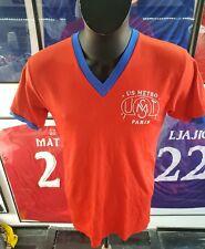 maillot jersey camiseta maglia shirt Paris psg us metro ventex porté worn rare