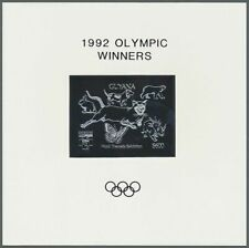 **92 GUYANA - MNH - Sports - Olympics -  SILVER WITH GOLD OVP !