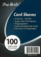 1,000 / 1000 Brand New Pro Safe Trading Card Soft PENNY SLEEVES