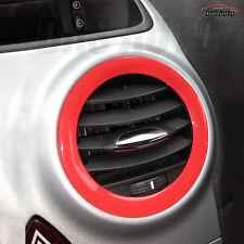 2x AIR VENT RINGS VAUXHALL CORSA D GEL BADGE OVERLAY Opel OPC VXR GSi ecoFLEX c