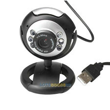 Top 8 Megapixel 30M USB 6 LED Webcam Kamera mit Mikrofon für PC Laptop Compute