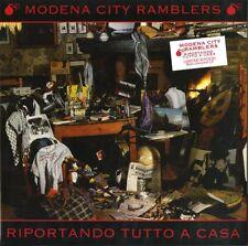 """MODENA CITY RAMBLERS """"RIPORTANDO TUTTO A CASA"""" lp ediz. limitata vinile rosso"""