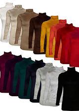 Rolli, Rollkragen, Rollkragenpulli, Rollkragenpullover, Langarmshirt, one-size