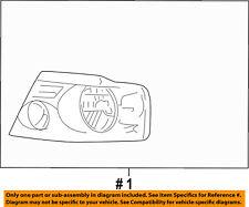FORD OEM-Headlight-Head light Headlamp Assy Right 7L3Z13008EA