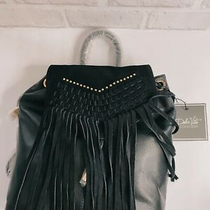 New Bogo Style Dolce Vita Backpack Bag Black