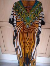 Long Kaftan Women Full Evening Gown CAFTAN Maxi DRESS Beach Cover Up Free Size