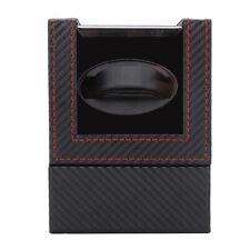 Scatola Porta Orologi Tempo Carica Rotante Automatica Watch Winder Box New.