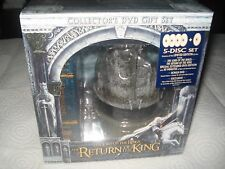 Lord Of The Rings Return Of The King Collector's Gift Set DVD NEW Sealed USA