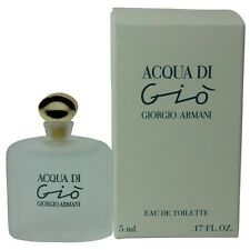 Acqua Di Gio by Giorgio Armani for Women Miniature EDT Perfume  0.17oz. NEW