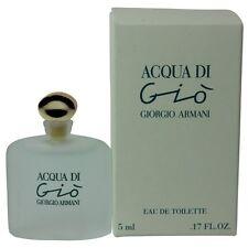 Acqua Di Gio by Giorgio Armani for Women Miniature EDT Perfume  0.17oz. NEW