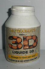Liquide 3D 250ml Nutrabaits