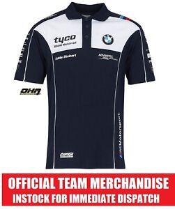 TYCO BMW TAS Racing BSB / TT Official Team Polo Shirt - Genuine NEW S1000RR