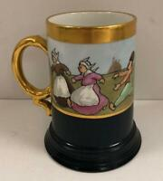 JPL Jean Pouyat Limoges France Hand Painted Stein/Mug 1890-1902