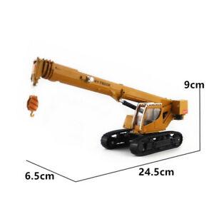 HY-truck 1/50th Crawler Crane Vehicle Model Die-cast Engineering Vehicle Toy