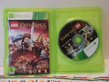 Lego Xbox 360 Lord of the Rings Game Complete Used Very Good