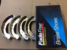 New Free Fade Premium Drum Brake Shoe Shoes 654R