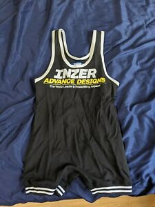 Inzer Lifting Singlet Adult M Black ADVANCE DESIGNS POWERLIFTING