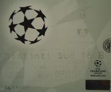 Ticket uefa cl 1999/00 SS lazio-bayer leverkusen