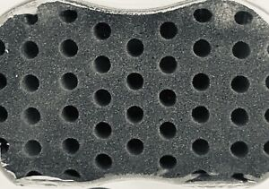 Premium Small Holes Hair Brush Sponge forDreads Locking Twist Afro Curl Locs