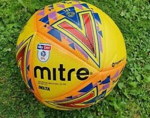 Mitre Delta EFL Match Ball Size 5 FIFA Pro Quality Hyperseam Size new