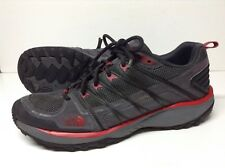 Men's The North Face Litewave Explore Gray/Red Hiking Trail Shoes Size 10