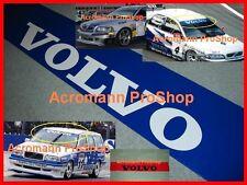 """53"""" VOLVO Windshield Sunstrip Decal Sticker 850 BTCC T5 T4 S60 R S40 240 C30 740"""