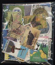 Malaysia Bag 130 Stamps Used