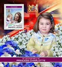 Sierra Leone - 2018 Princess Charlotte - Souvenir Sheet - SRL18301b