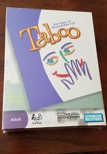 Taboo Adult Board Game of Unspeakable Fun (2009) Edition New Factory Sealed