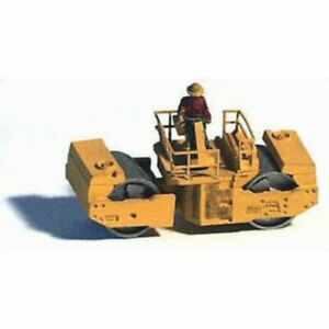 GHQ 53009 - Construction Equipment (Unpainted Metal Kit) Compactor  - N Scale...