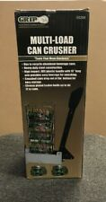Multi-Load Can Crusher By Grip on Tools soda & beer aluminum cans 12 oz New