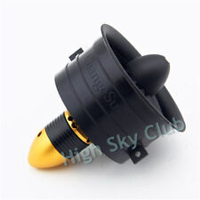 64mm Ducted Fan Set 12 Blades EDF With Poweful Electro-motor kv3200 for RC model
